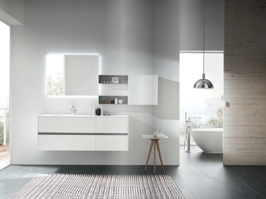Arredo bagno white home design arredamenti stradella for Arredamenti romanoni srl pavia